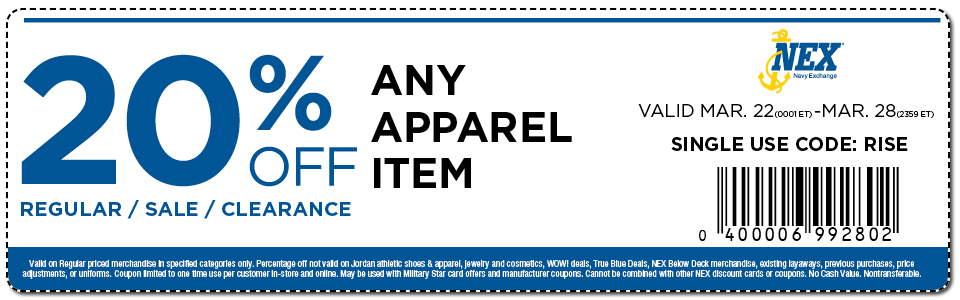 Save on Apparel