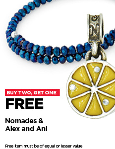 Nomades & Alex and Ani- Buy 2, Get 1 free