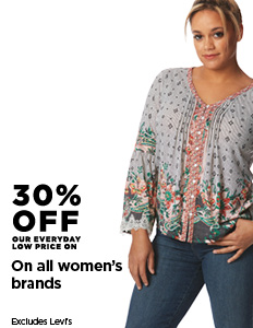 40% off On All Women's Brands