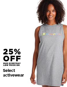 25% off Select Activewear