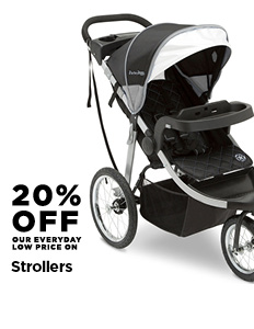 20% off Strollers