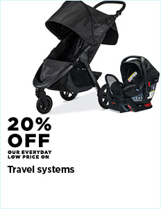 20% Off Travel Systems