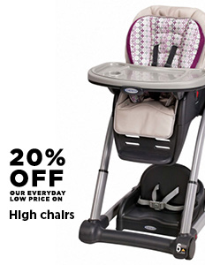 20% Off High Chairs