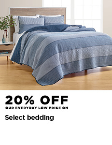 20% off select bedding