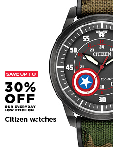 Up to 30% off Citizen Watches