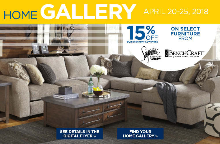 Save 15% Off Select Furniture