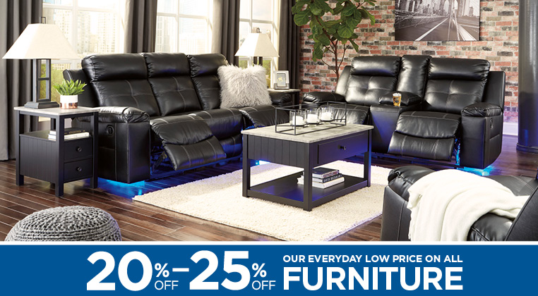20 To 25 Off Our Everyday Low Price On Select Furniture