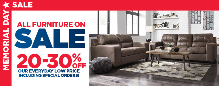 20% To 30% Off Our Everyday Low Price On Select Furniture