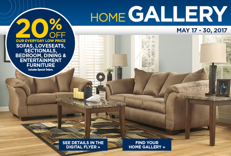 15% off sofas, loveseats, sectionals, bedroom, dining and entertainment furniture