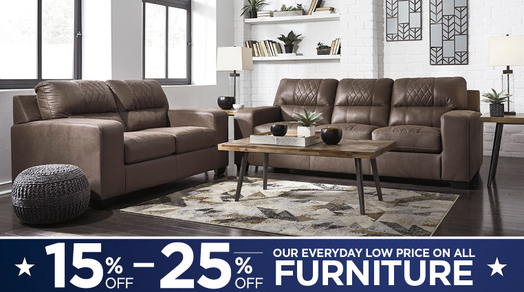Save Up To 25% on Select Furniture