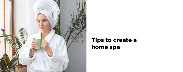 Home Spa Tips Article