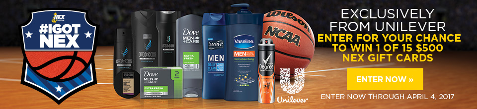 Unilever March Madness Sweepstakes