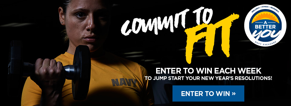 Commit to fit. Enter here to win each week.