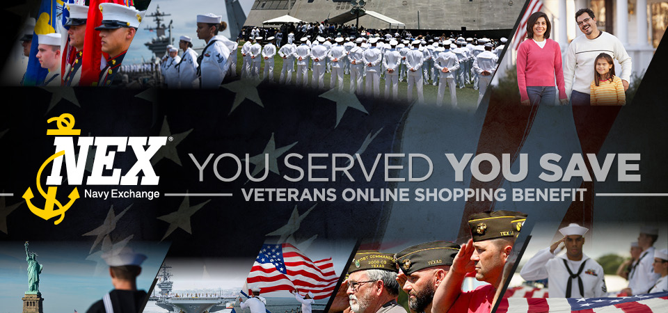 Veteran's Online Shopping Benefit