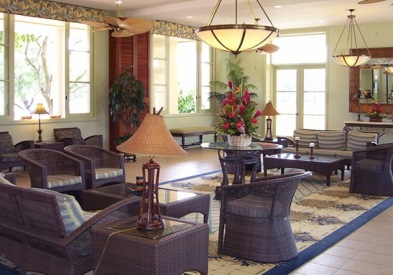 Navy Lodge Hawaii Lobby