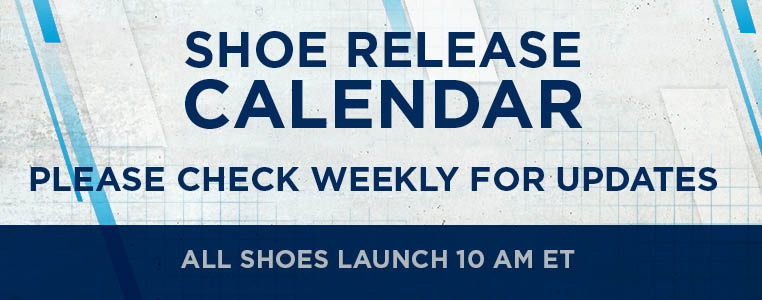 Shoe Launch Calendar