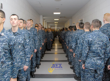 Navy Exchange Great Lakes Sailors