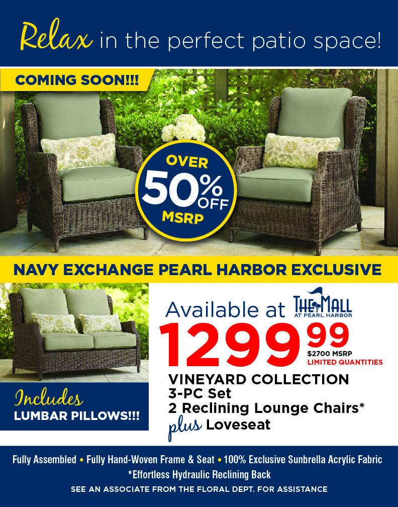 The Navy Exchange Mall At Pearl Harbor In Honolulu Hi Shop Your Navy Exchange Official Site