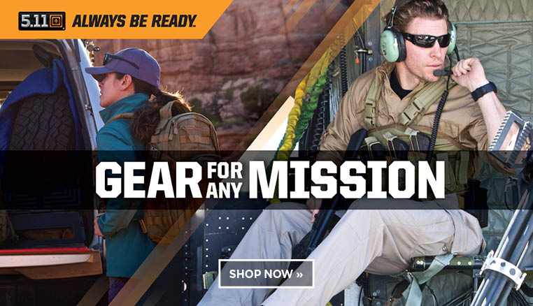 5.11. Gear for any mission