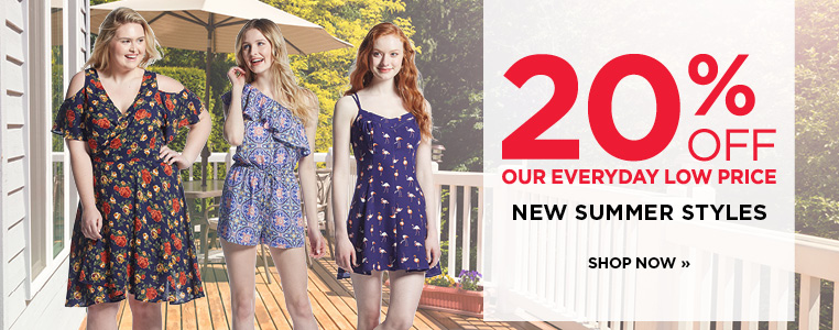20% off New Summer Styles