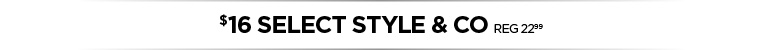 Select Style & Co on sale