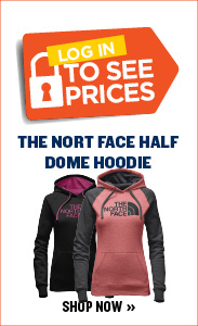 $25 The North Face Half Dome Hoodie