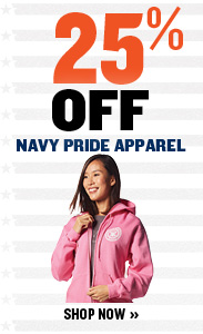 25% off Navy Pride Apparel