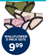Wallflower 3-Pack Sets
