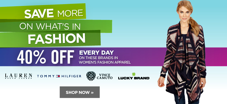 Save more on what's in women's fashion