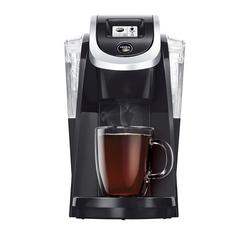 Coffee Maker Comparable To Keurig : Keurig Plus Series K200 Brewer - Black (119256) Single-serve Coffee Makers For The Home ...