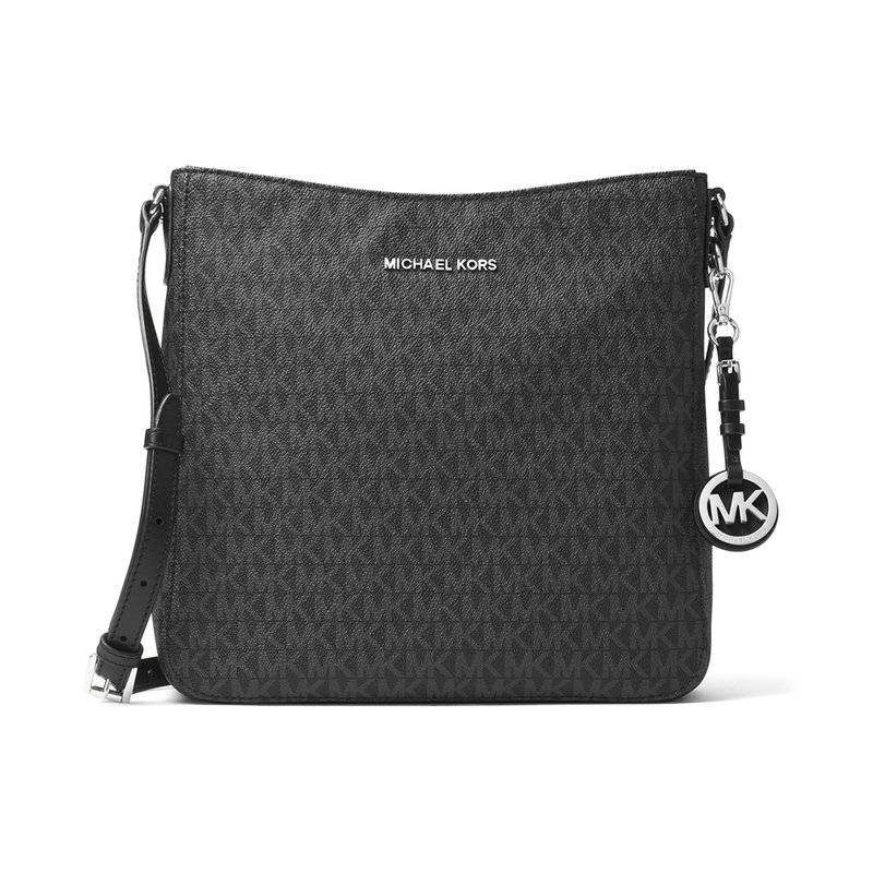 abbe2ae79096 Michael Kors. Michael Kors Jet Set Travel Large Messenger Signature Black