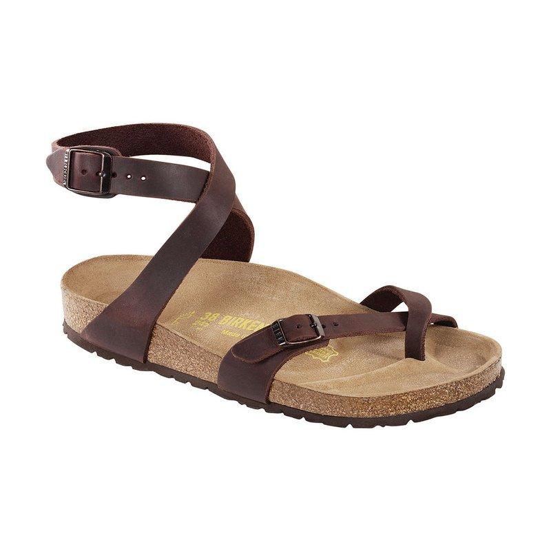 831c9edfc28 Birkenstock. Birkenstock Women s Yara Ankle Strap Habana Leather Sandal