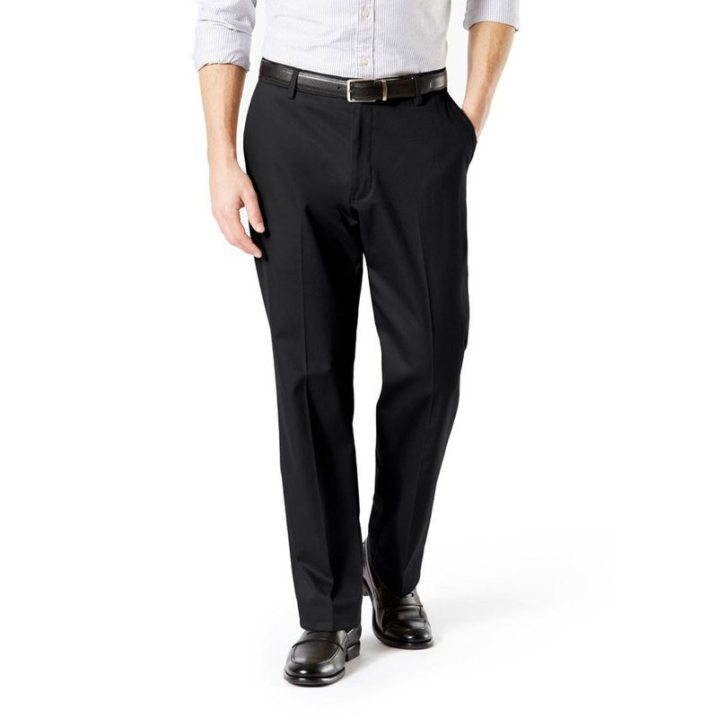 Dockers Men S Signature Classic Fit Flat Front Pants