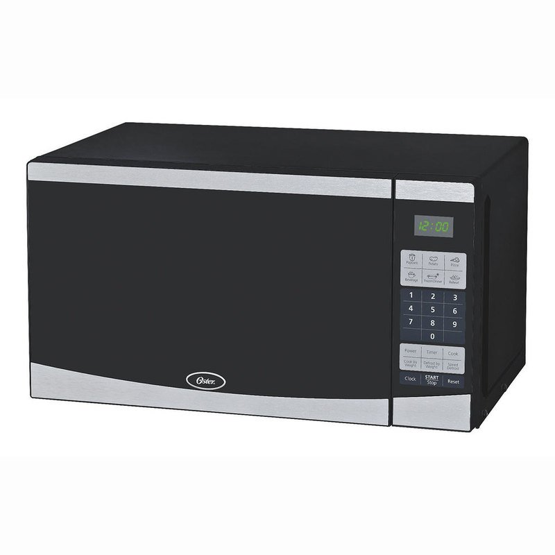 Oster 0 7 Cu Ft 700 Watt Compact Microwave Oven Ogyu701