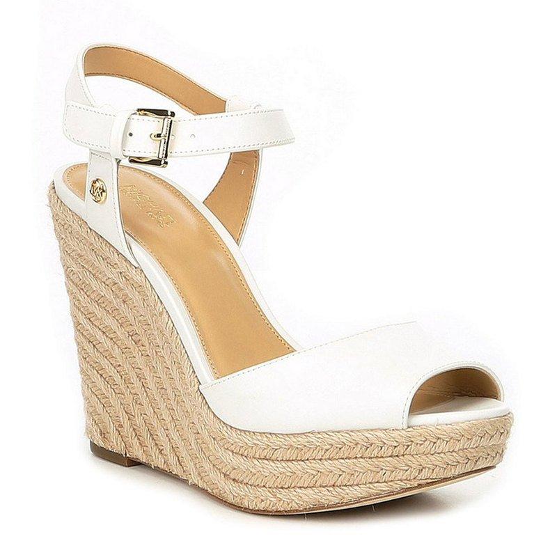 7b058f7cbada Michael Kors Women's Carolyn Wedge   Women's Heels, Pumps & Wedges   Shoes  - Shop Your Navy Exchange - Official Site