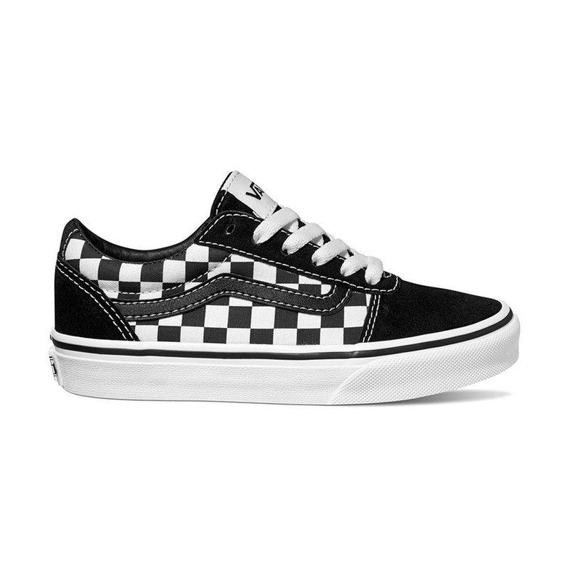 045baa3d95ab46 Vans Boys Ward Checker Sneaker (little Kid)