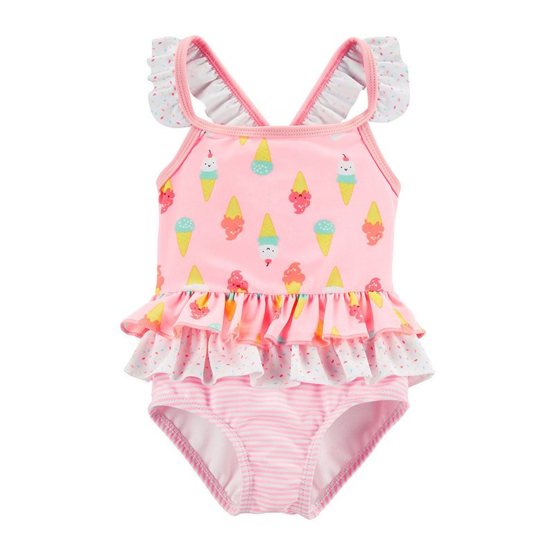 2d1dd1e35f532 Carter's Baby Girls' Ice Cream Swimsuit | Baby Girls' Swimwear ...