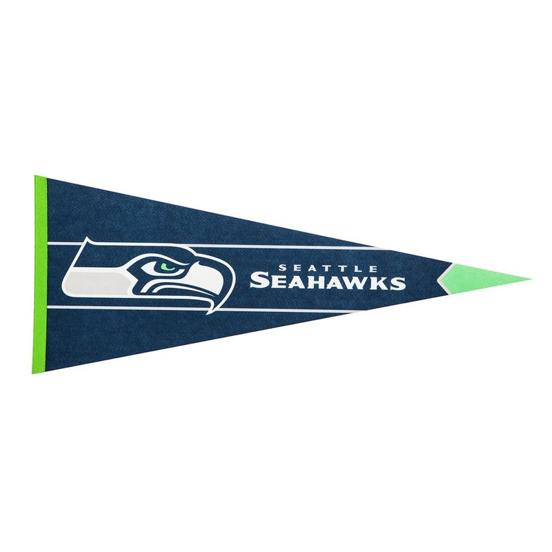 pretty nice ee599 e6843 Evergreen Seattle Seahawks Pennant Flag | Pennants | Nfl ...
