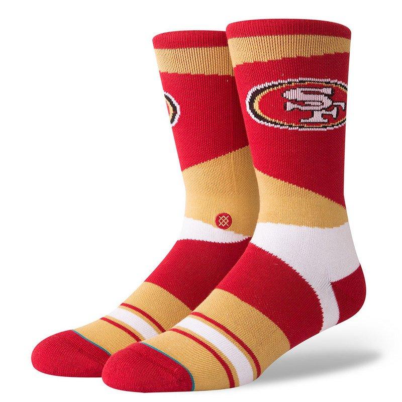 cc934310 Stance Men San Francisco 49ers Retro Sock | Men's Socks | Apparel ...