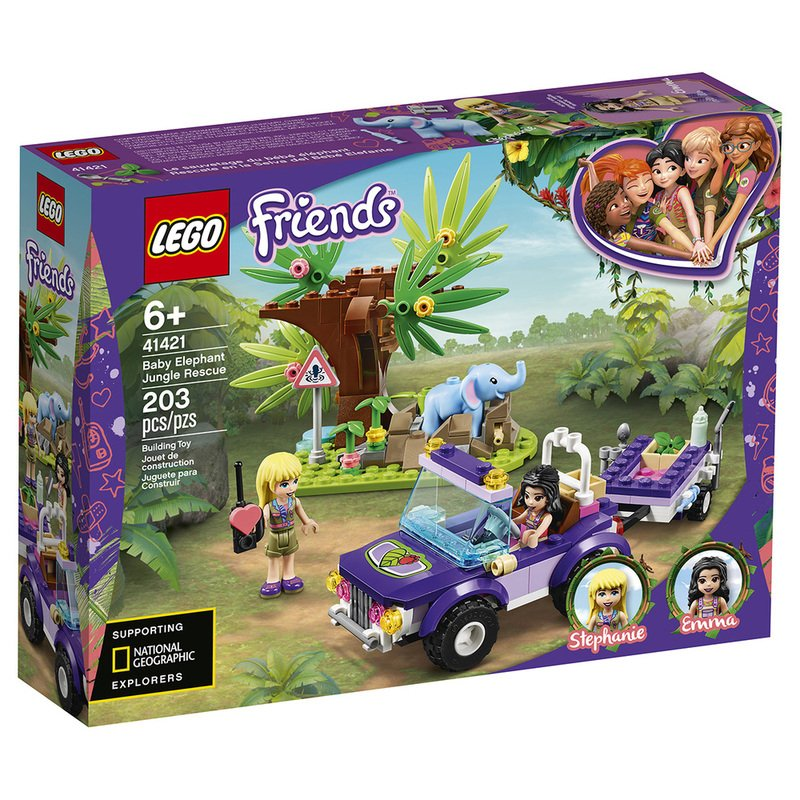 Lego Friends new, please note parcel rates apply Light Blue Baby Elephant
