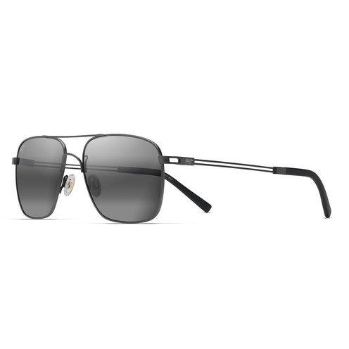 d78d8a6da6 Maui Jim Unisex Haleiwa Gunmetal Sunglasses 56mm | Women's Sunglasses |  Handbags & Sunglasses - Shop Your Navy Exchange - Official Site