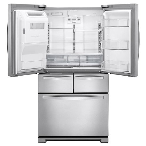 Whirlpool 26 Cu Ft French Door Refrigerator Mono Stainless Steel Wrv976fdem Graveyard Home Your Navy Exchange Official Site