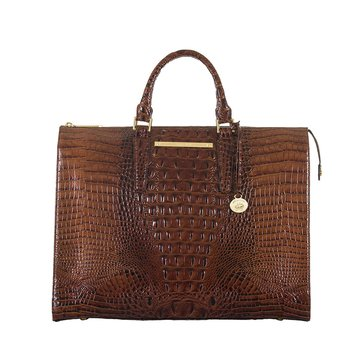 Brahmin Business Tote Pecan Melbourne