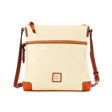 Dooney & Bourke Pebble Crossbody Bone