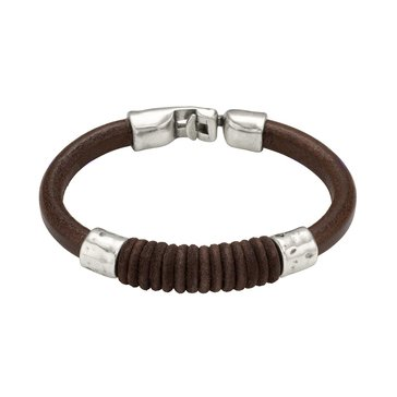 UNOde50 Men's Straight Jacket Bracelet, Size Large