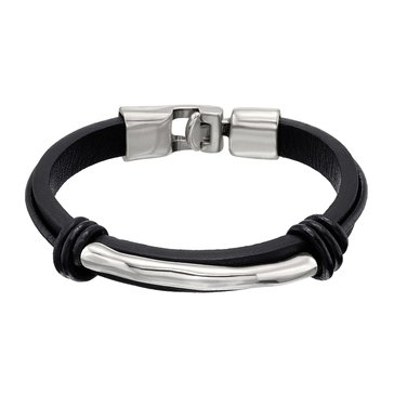 UnoDe50 Unisex That's It Bracelet, Black, Size Large