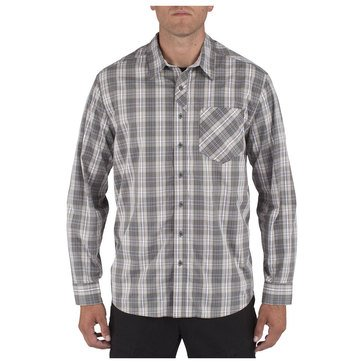 5.11 Men's Covert Flex Long Sleeve Shirt Storm