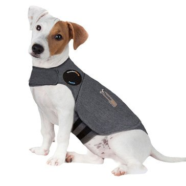 Thundershirt Dog Anxiety Medium Shirt Heather Grey