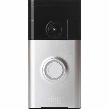 Ring WiFi Video Doorbell - Satin Nickel