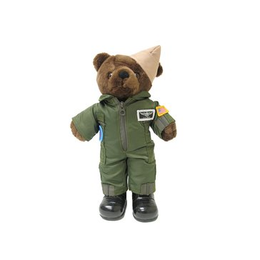 Bear Forces Of America USN Flight Suit Mini Bear